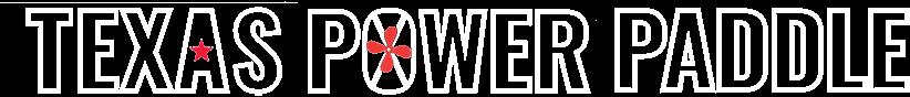 Texas Power Paddle Logo